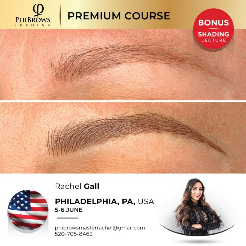21-06-05 <br /> PhiBrows Microblading Philadelphia, PA – June 5/6