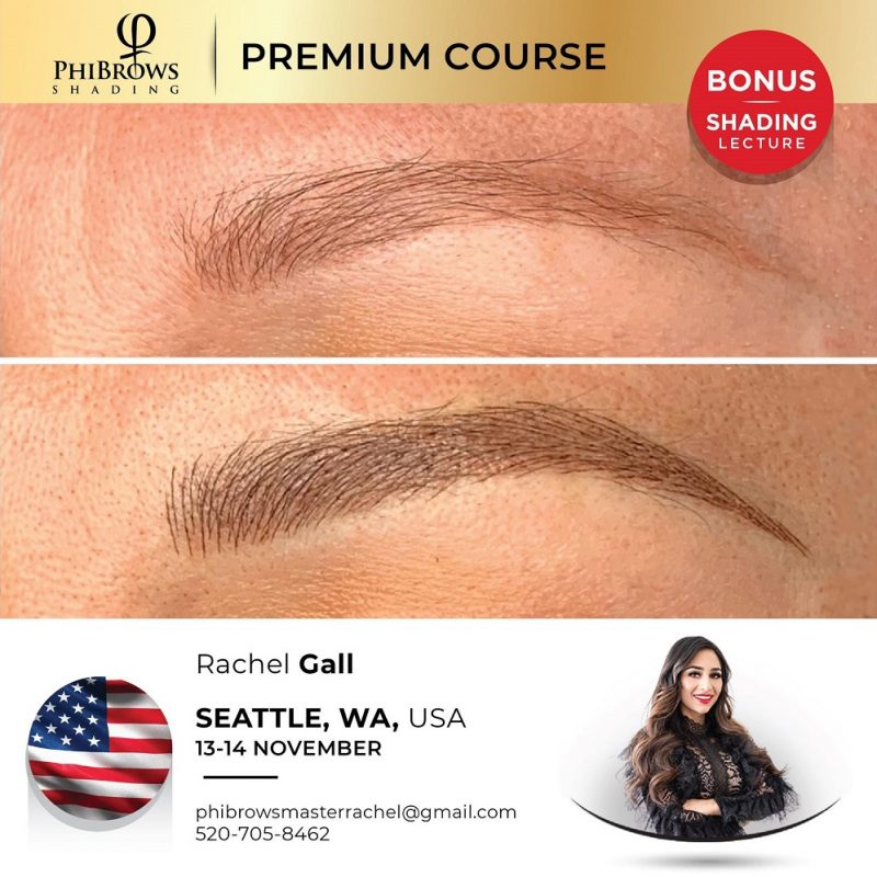 21-11-13 <br /> PhiBrows Microblading Training Seattle, WA – November 13/14